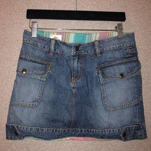 Lacoste Denim Skirt